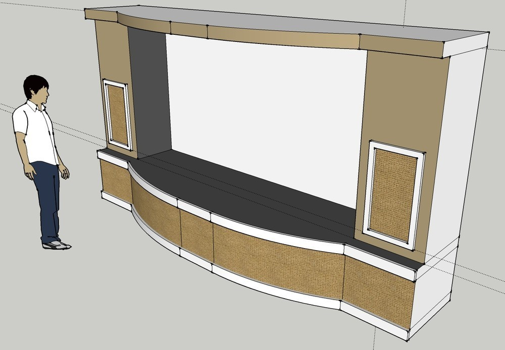 Genial PJ Screen Stage Sub Enclosure Design Pj Screen Stage Finished .