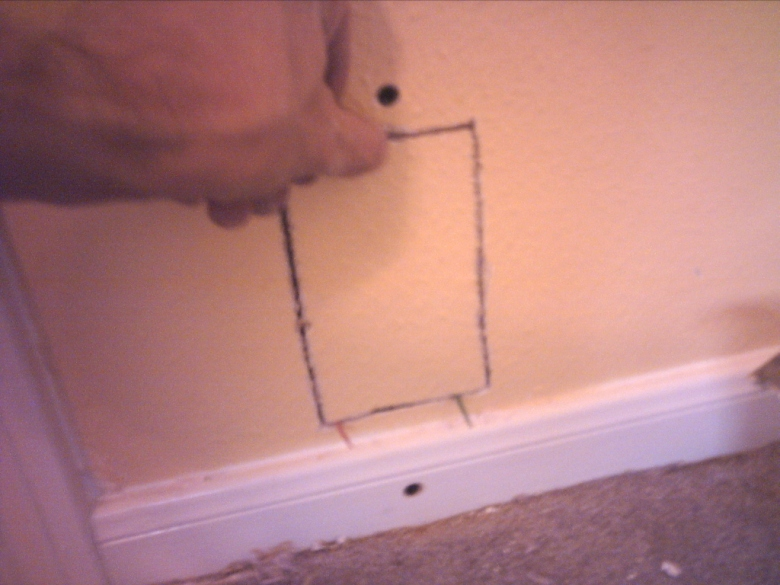 Name:  Positioning sheetrock square.jpg