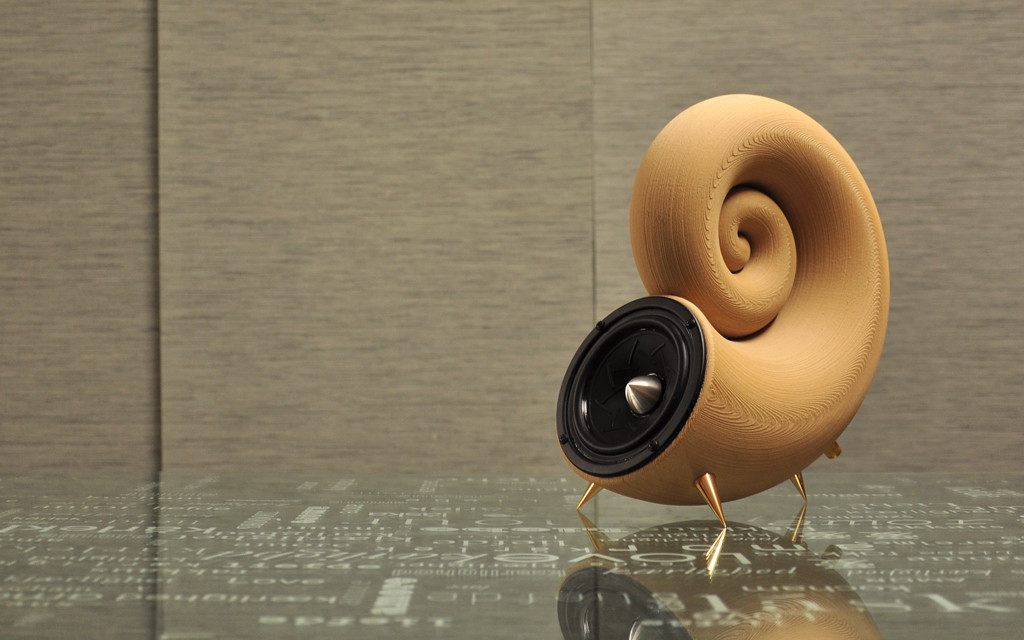 $52 3D printed wooden speaker enclosure - Home Theater Forum and