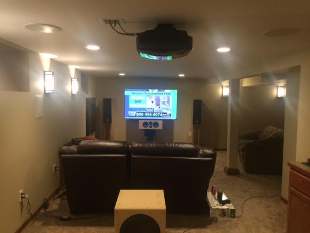 Loking To Install Projector In Basement With 7 Foot