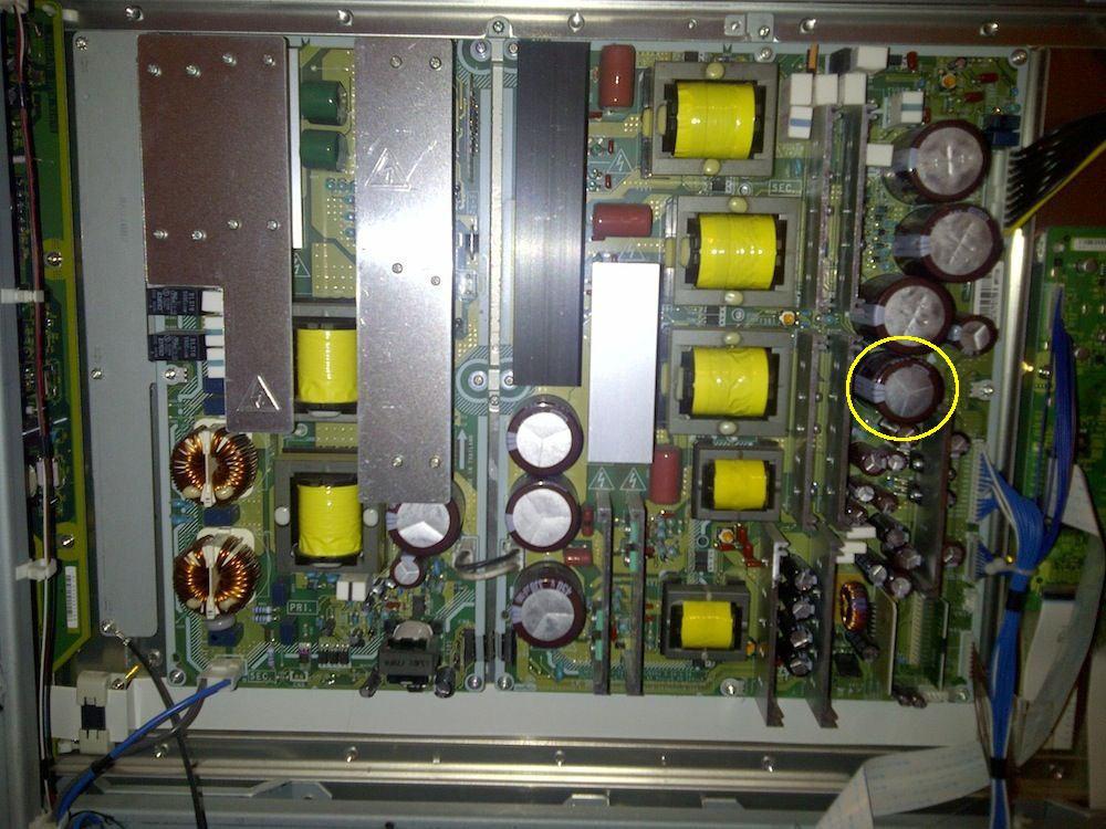 """Hitachi P60X901(60"""" not 50"""") led flashes 2 times (not 3)-psu_2-copy.jpg"""