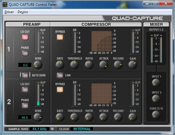 REW 5.01 Beta - Soundcard Calibration Issue (dB variations)-quad-capture-control-panel.jpg