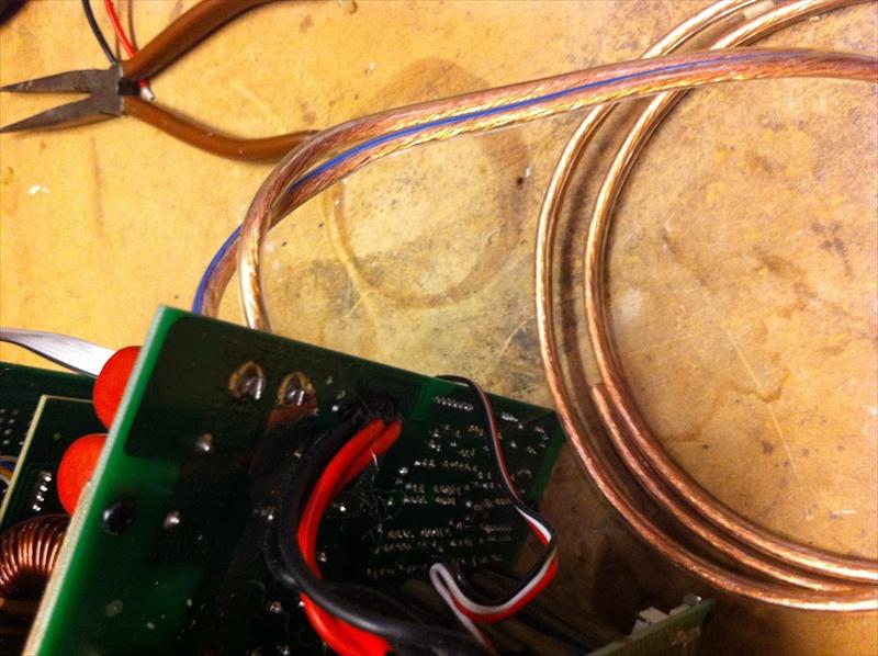 """Sundown Audio SD-1 v.2 10"""" Subwoofer Build-re-soldered-speaker-wire.jpg"""