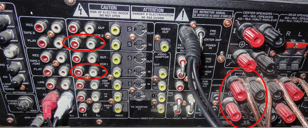 Help with dual passive sub hookup to old reciever - Home Theater ...