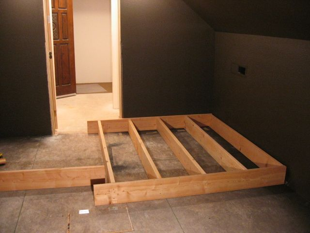 Home theater riser plans
