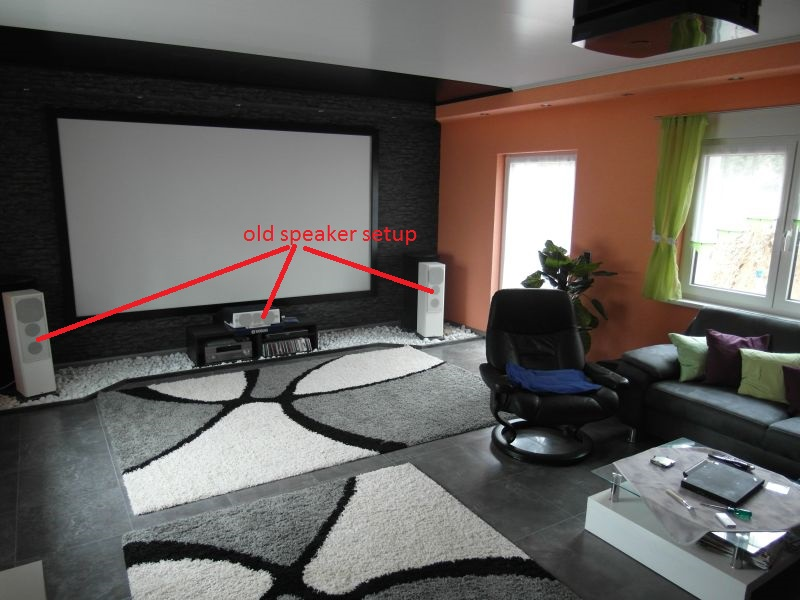 My Living room theater, - Home Theater Forum and Systems ...