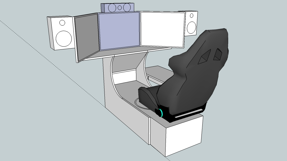 Sub Ideas For Sim Racing Cockpit Home Theater Forum And Systems