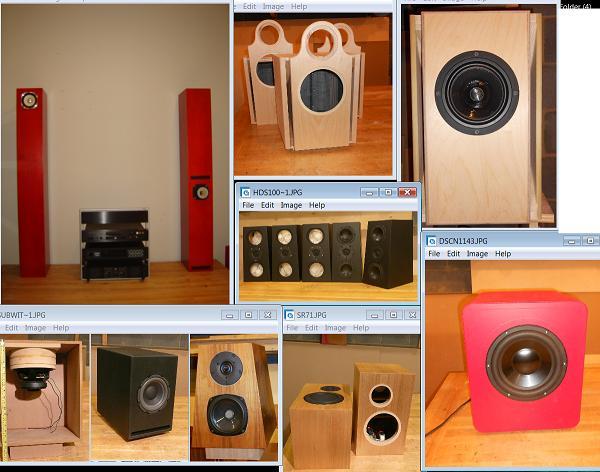 Surround Speaker Build Home
