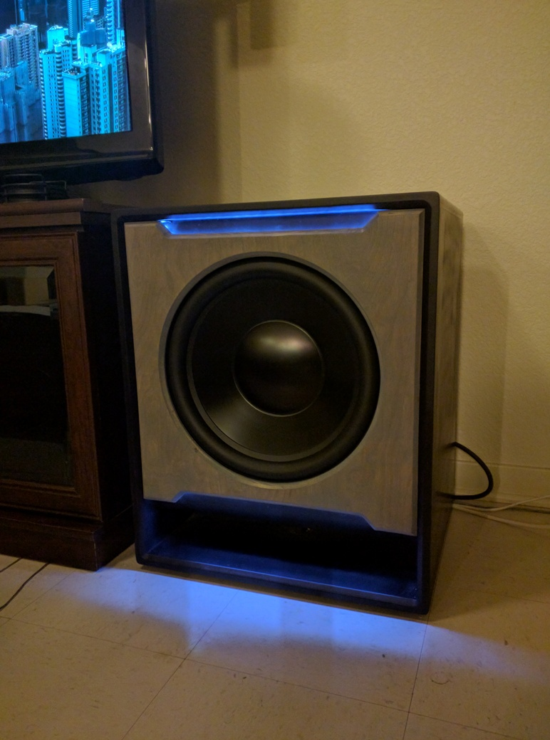 Custom Dayton Audio Reference Build - Home Theater Forum and Systems on diy home subwoofer 15, diy home theater, diy home entertainment cabinets, diy bookshelf speaker, diy home projects, diy home subwoofer plans,