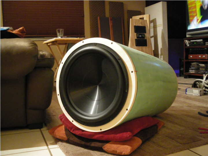 Bamboo open baffle project almost done - Page 3 - Home