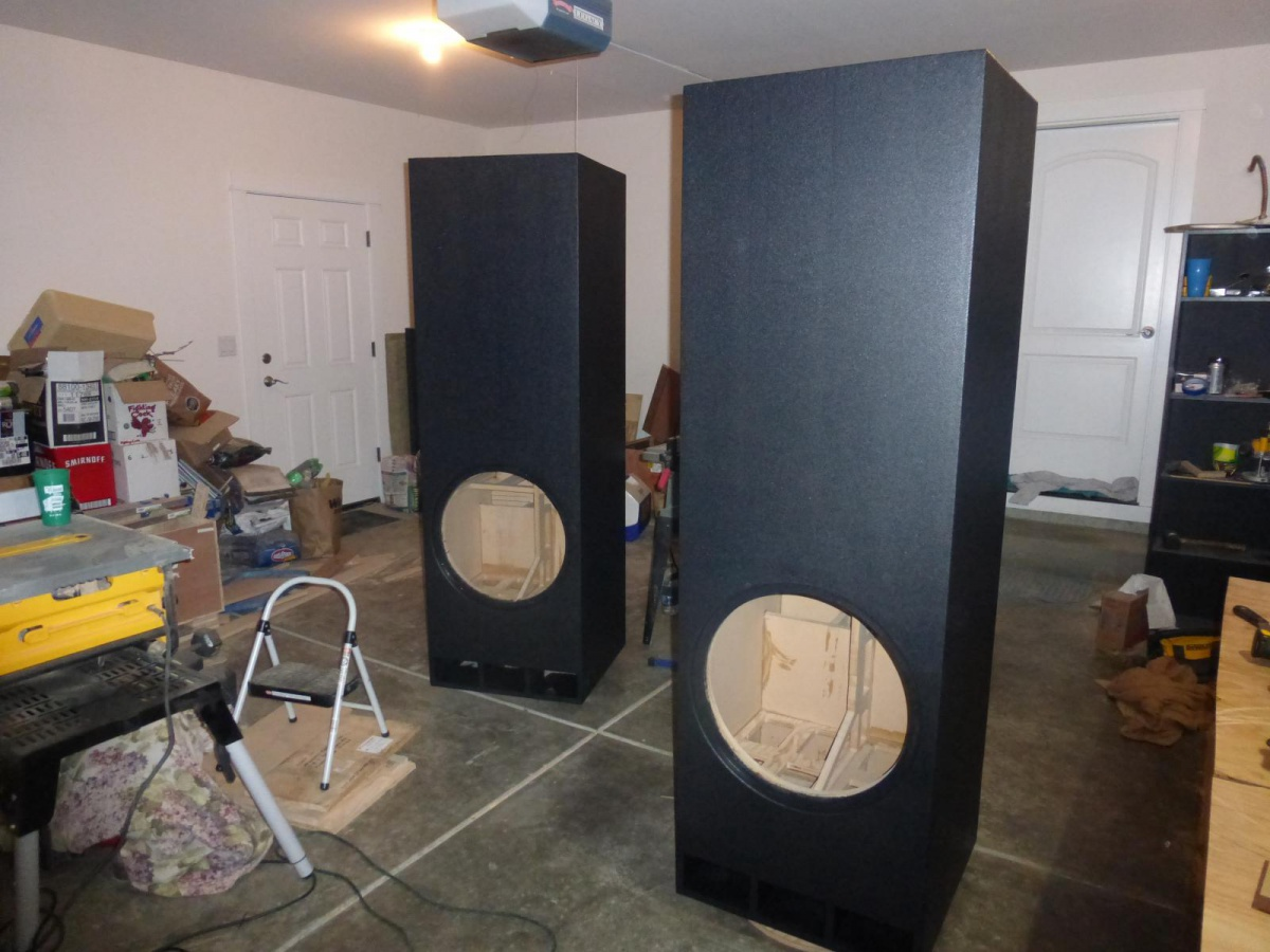 Fs Ftw21 Ported 17cu Ft Subwoofer Pair Home Theater Forum And Wiring Diagram Http Wwwhometheatershackcom Forums Diy Ftw21quot Subs Build17