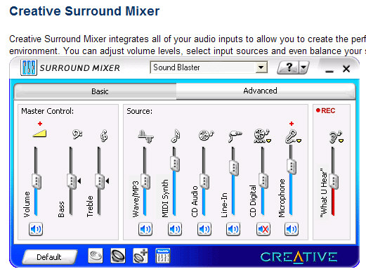 Trouble calibrating SB audigy2zs in REW- need help-surround-20mixer.jpg