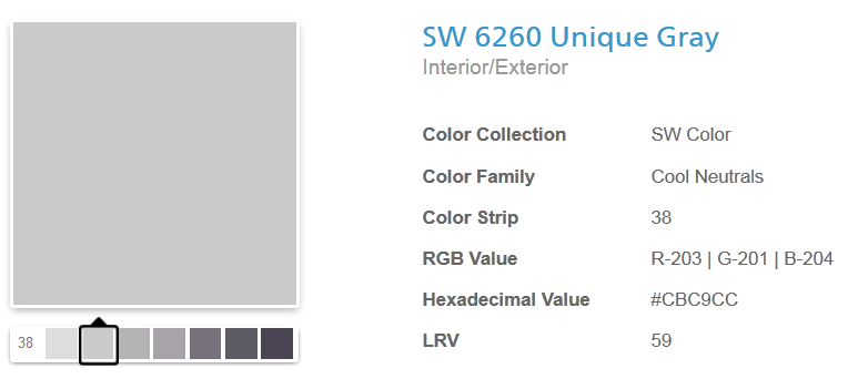 """Question about Sherwin-Williams """"Unique Gray"""" I'm using for my screen...-sw.png"""