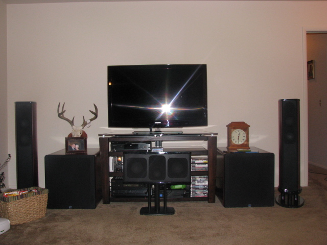 Center Channel Stand Home Theater Forum And Systems