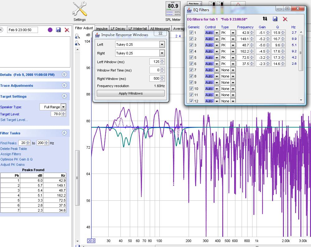 Is there a way to average a particular Decay Time and generate filters on that-targetdecay000.jpg