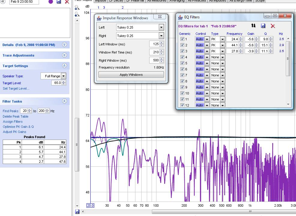 Is there a way to average a particular Decay Time and generate filters on that-targetdecay210.jpg