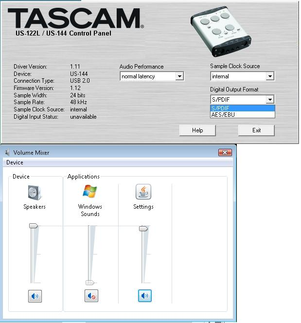 Trouble getting started...-tascam-control-panel.jpg