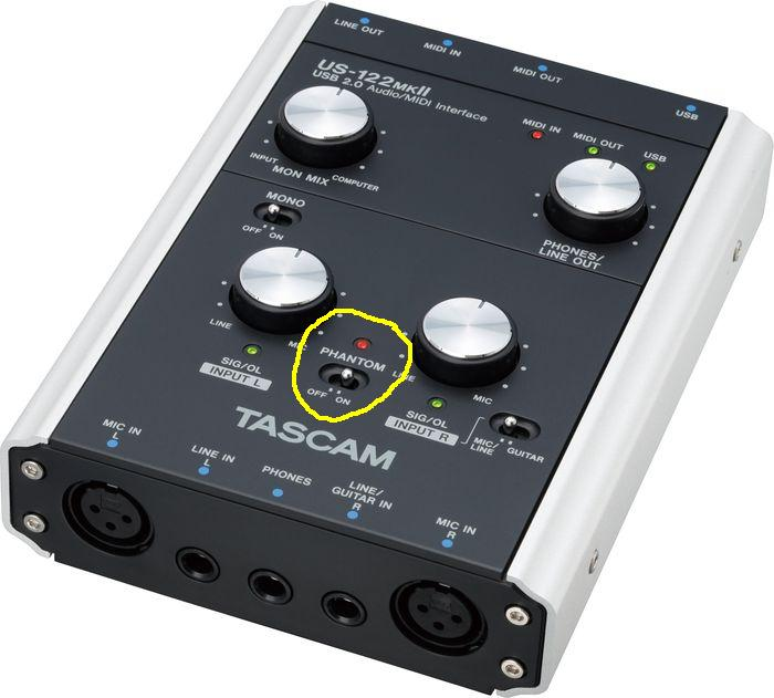How to properly set up a Tascam US144-MKII-tascam-us122-marked.jpg