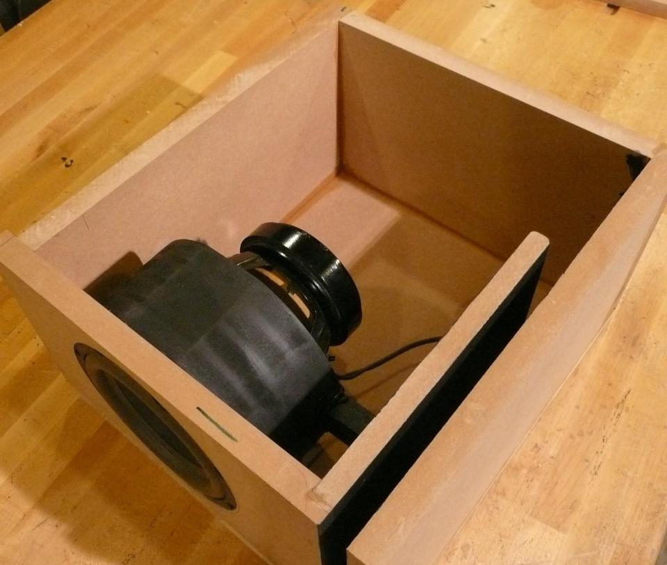 "Home Theater Design Ideas Diy: Small Multiple 8"" Subwoofer Design"
