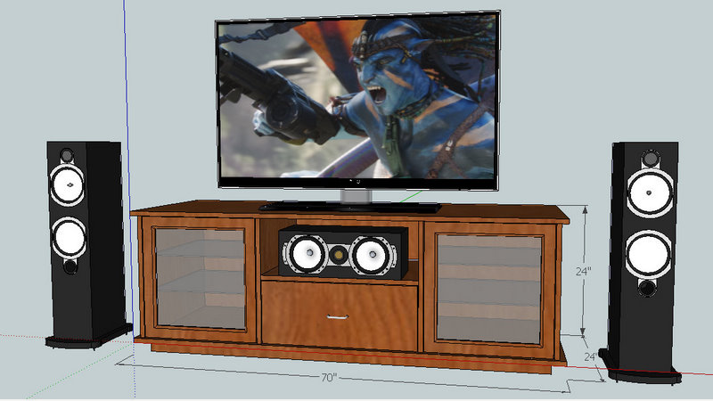 Superb DIY TV Stand   Horizon N702+ Inspired Tv Stand Components
