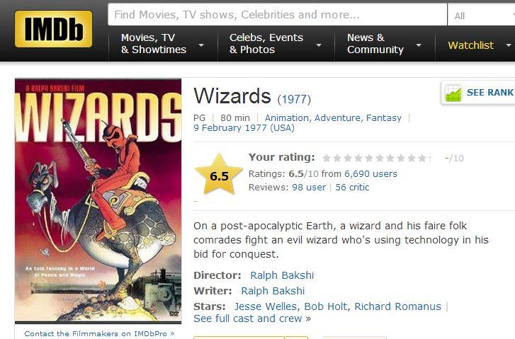 What strange, wierd or cult movie do you like?-wizards.jpg