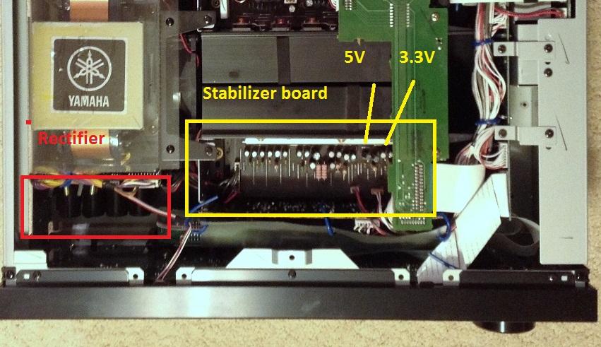 Yamaha RX-V2500 shut down problem-yamaha-top.jpg