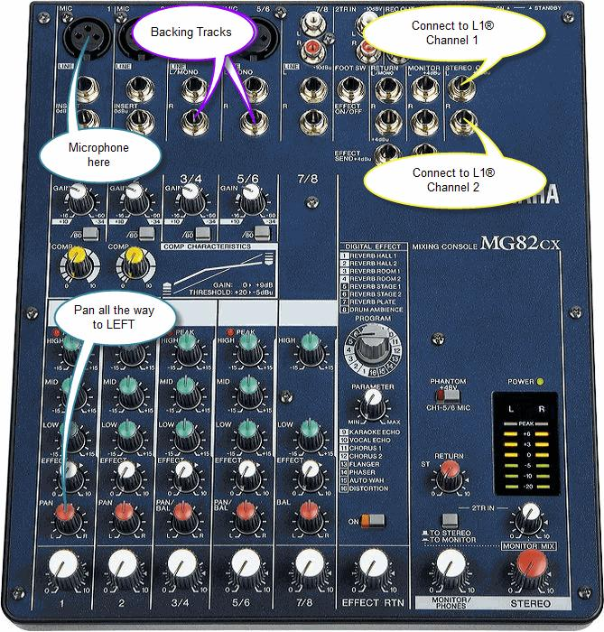 how to hook up yamaha mg82cx mixer to onkyo 607 receiver home how to hook up yamaha mg82cx mixer to onkyo 607 receiver yamahamg82cx jpg