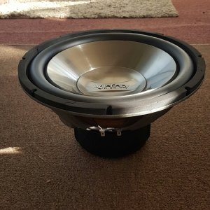 "12"" sub in rear loaded folded horn"