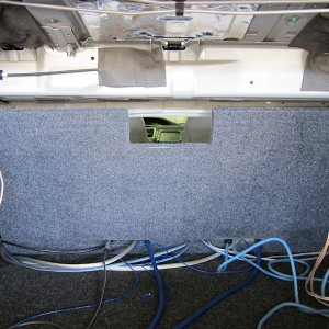 Sub enclosure and trunk board