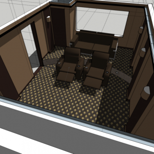 Cinema plans sketchup